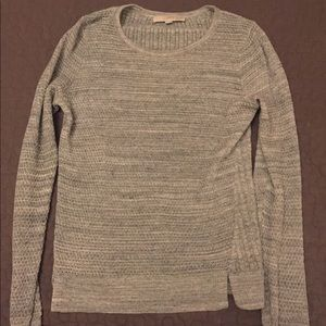 Grey LOFT sweater